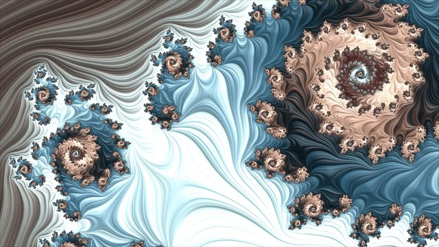 Rubber Streams fractal screensaver still